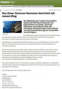 ihme zentrum hannover presse newsmax 210x300 - Presse